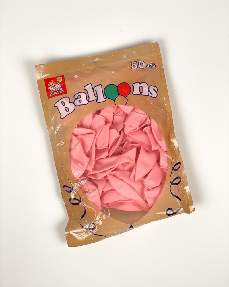 بالونات وردي فاتح