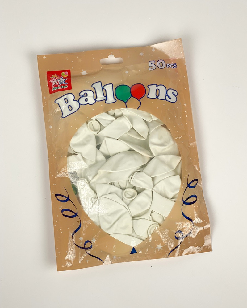 بالونات ابيض