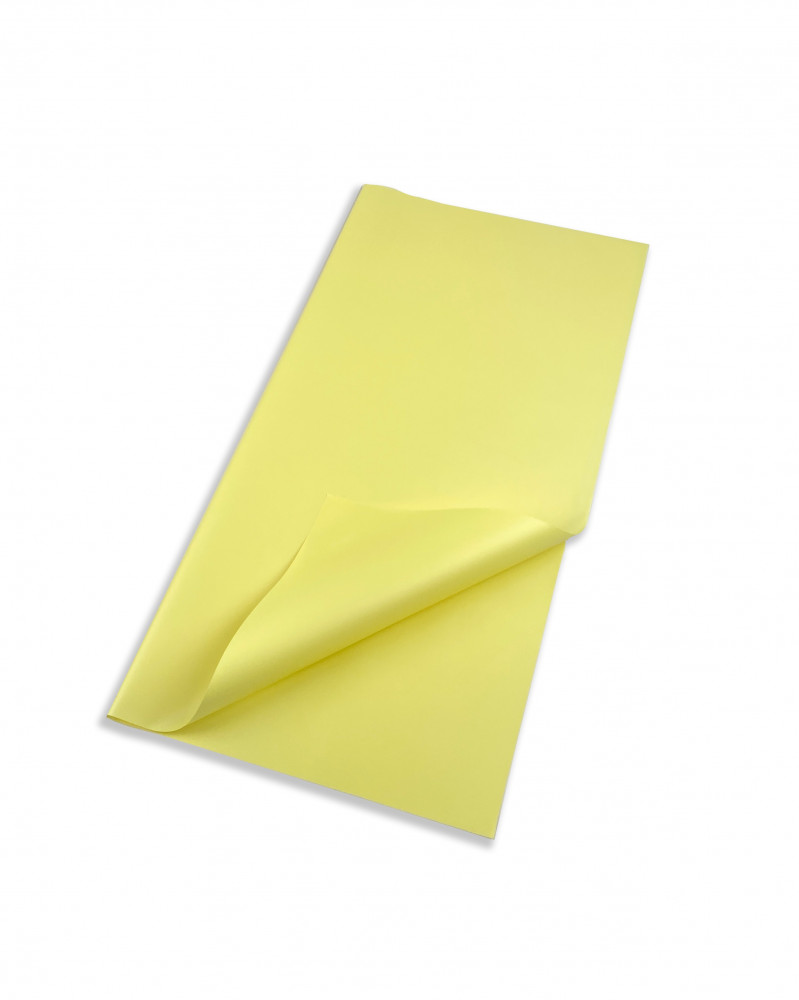 ورق تغليف اصفر
