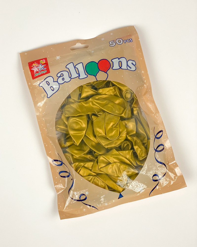 بالونات ذهبية