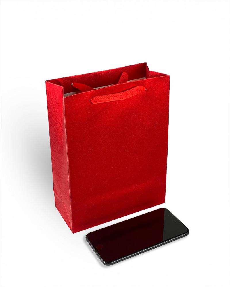 كيس هدايا احمر