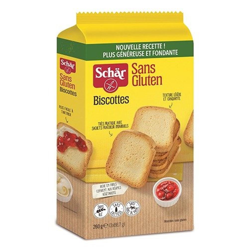خبز هش خالي  من الجلوتين 250 جرام