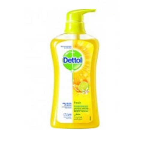 ديتول سائل استحمام منعش المضاد للبكتيريا 500 مل      Dettol Fresh Anti