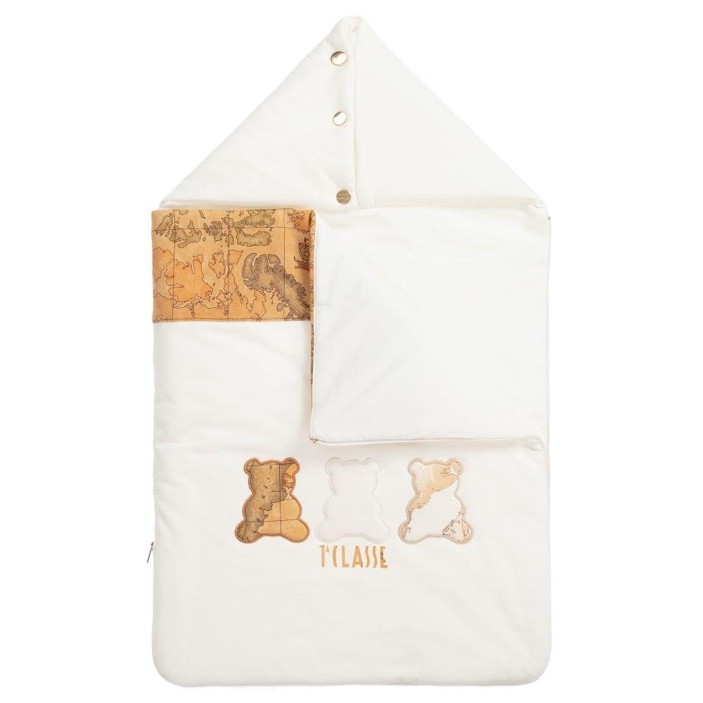 غطاء واقي من البرد لحديثي الولادة  من ماركة  Alviero Martini من دوها