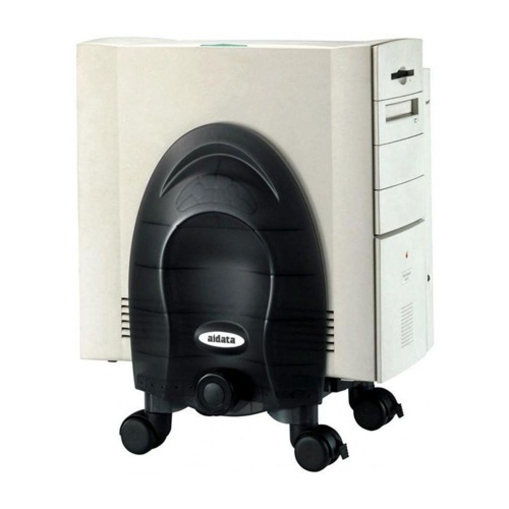 قاعدة تثبيت جهاز كمبيوتر مكتبي بعجلات