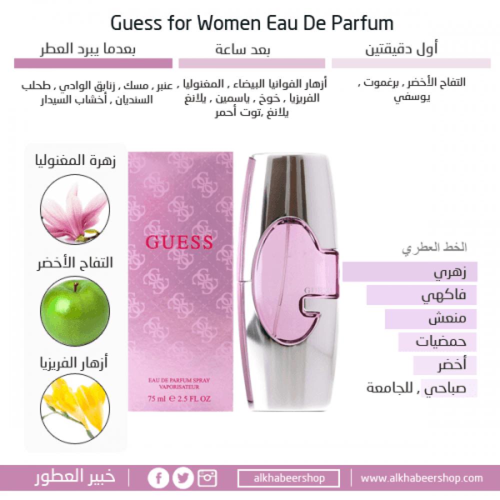 Guess Woman for Her Eau de Parfum متجر خبير العطور