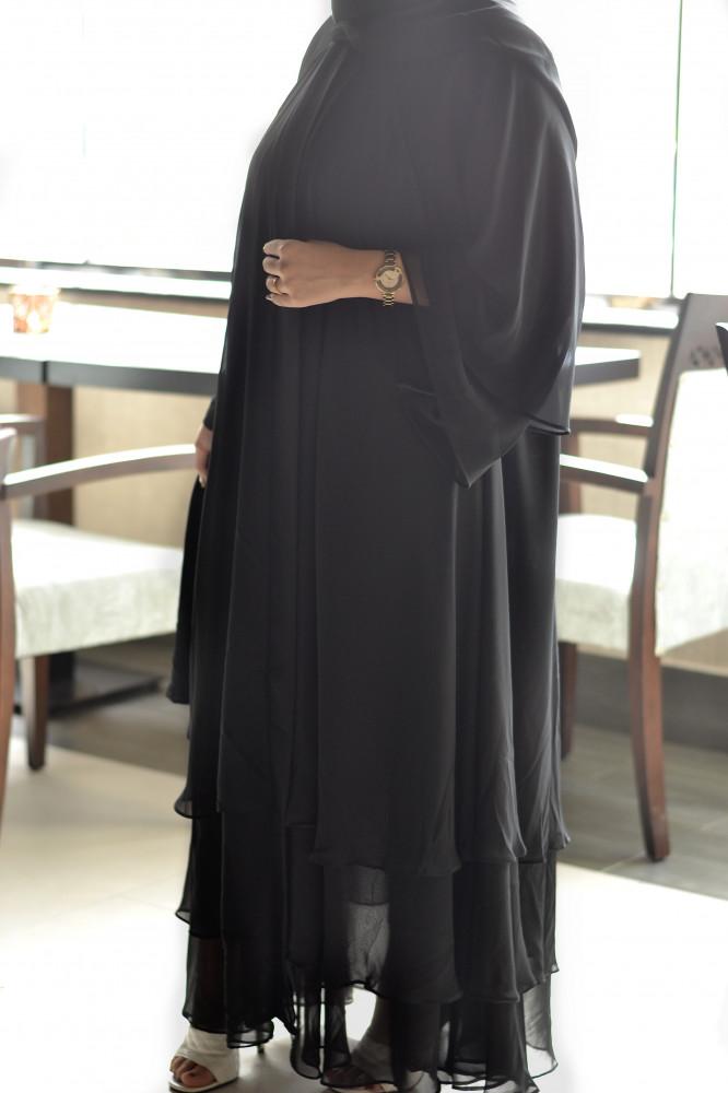 افضل عباية سوداء للمحجبات - متجر ميم عباية