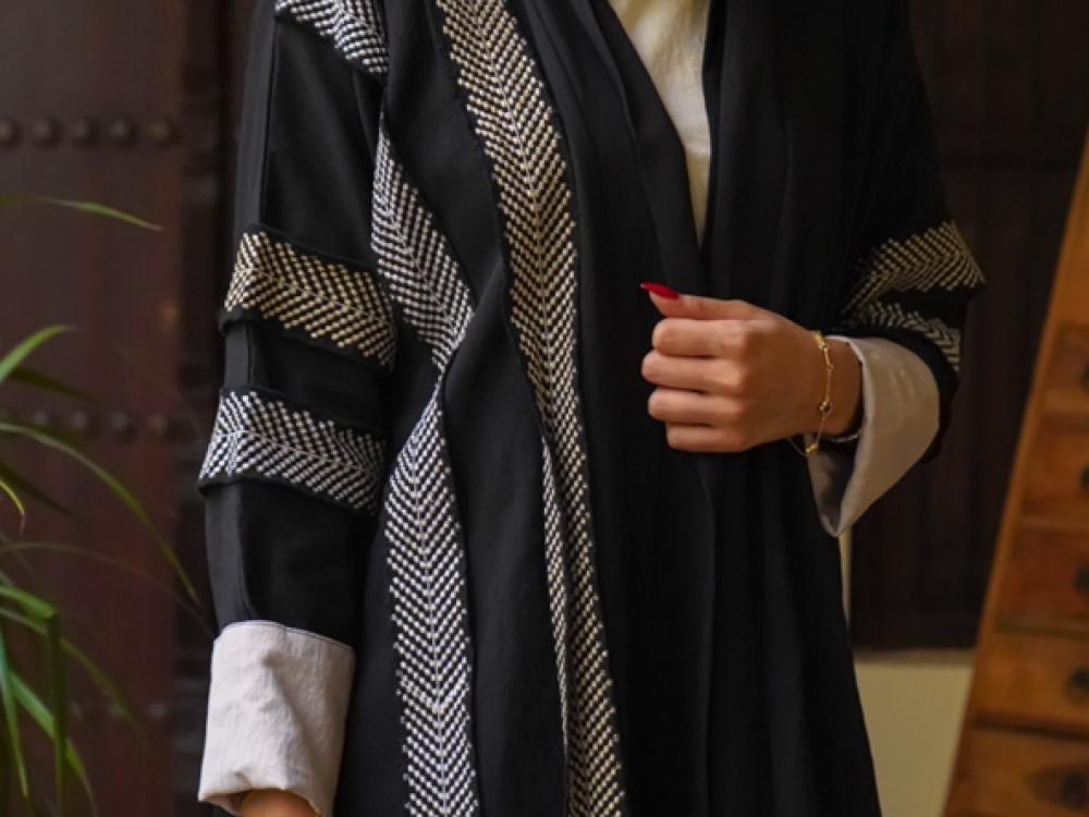 اجمل عبايات بناتى سوداء - متجر ميم عباية