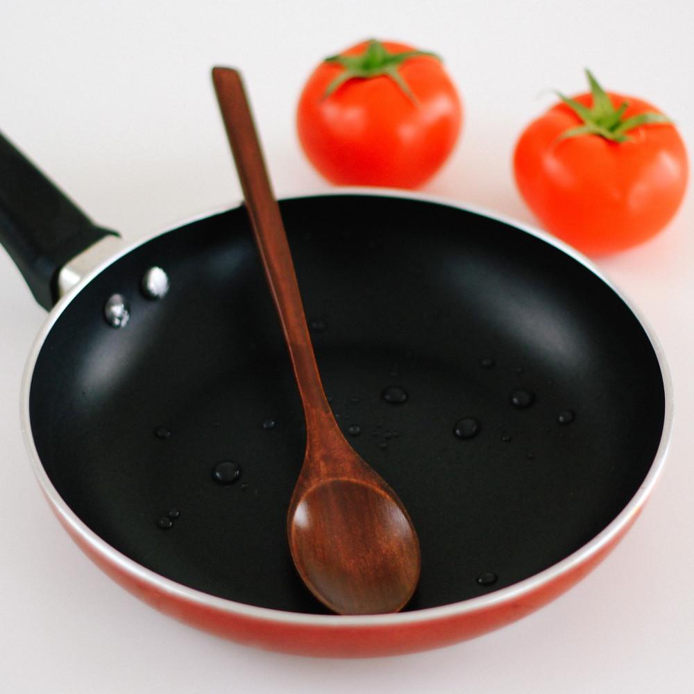 ملعقة طهي خشب طويلة ملعقة خشب طبخ ملعقة للتحريك أواني المطبخ ملاعق خشب