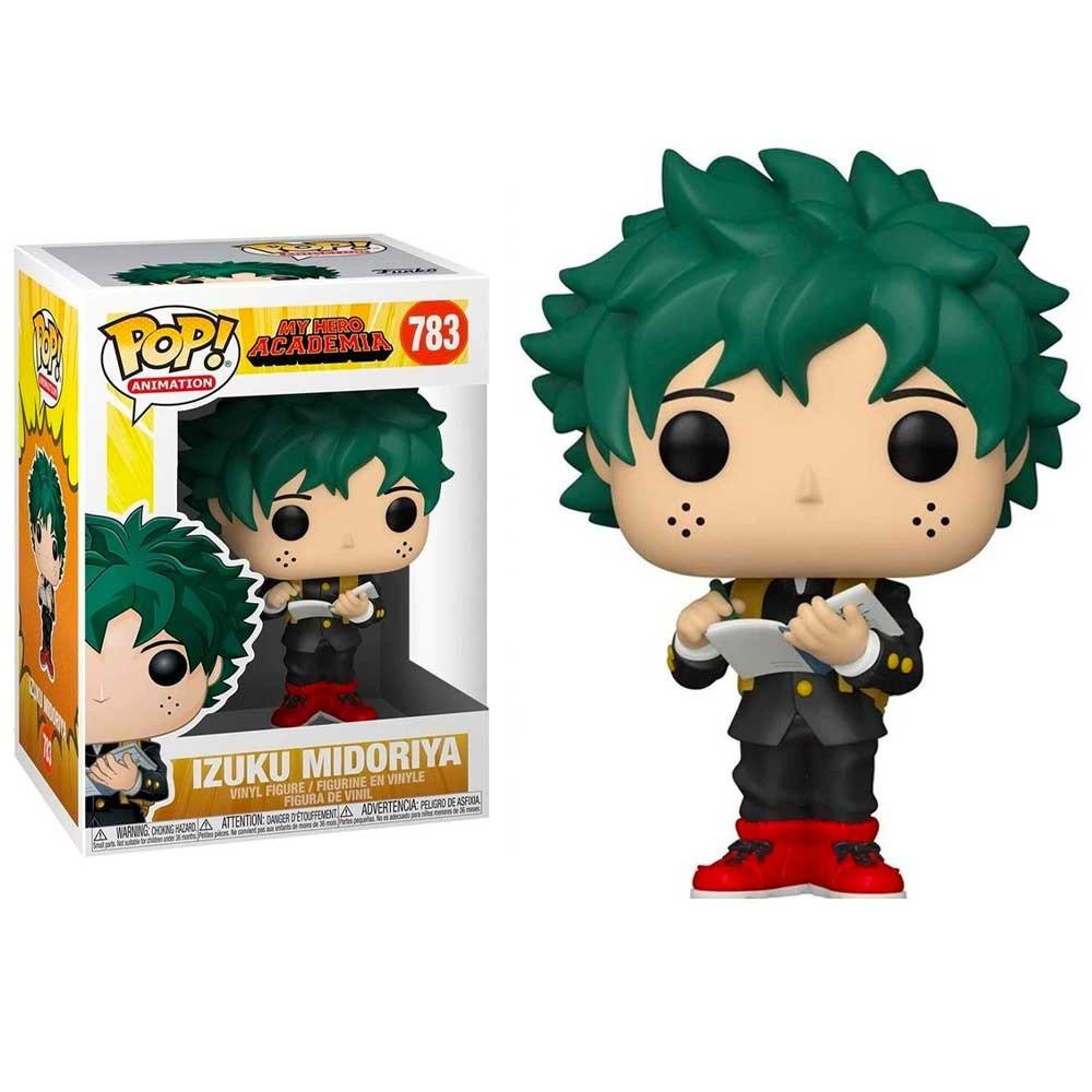 POP Anime MHA Deku Middle School Uniform