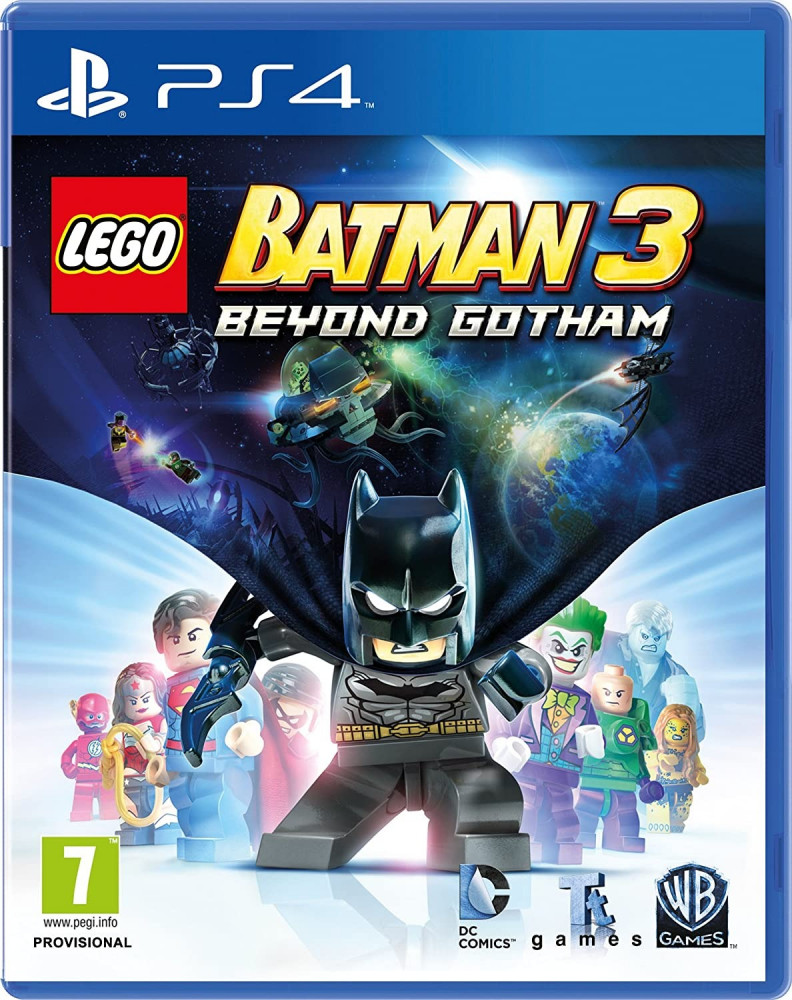 LEGO Batman 3 Beyond Gotham -PS4