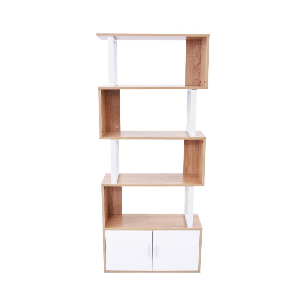 رف متعدد الاستخدام 9804 ابيض خشبي