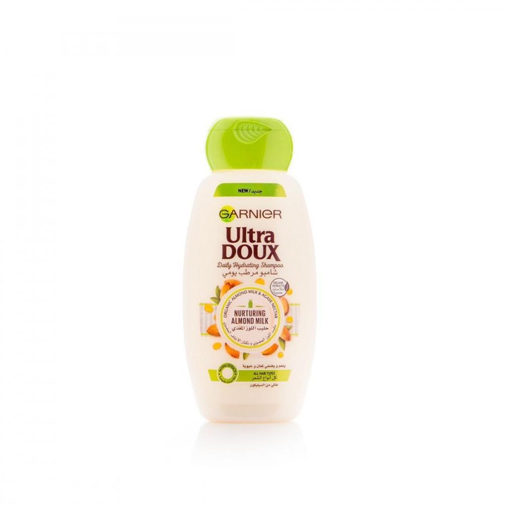 شامبو الترا دوكس مرطب بحليب اللوز من غارنييه - 200 مل