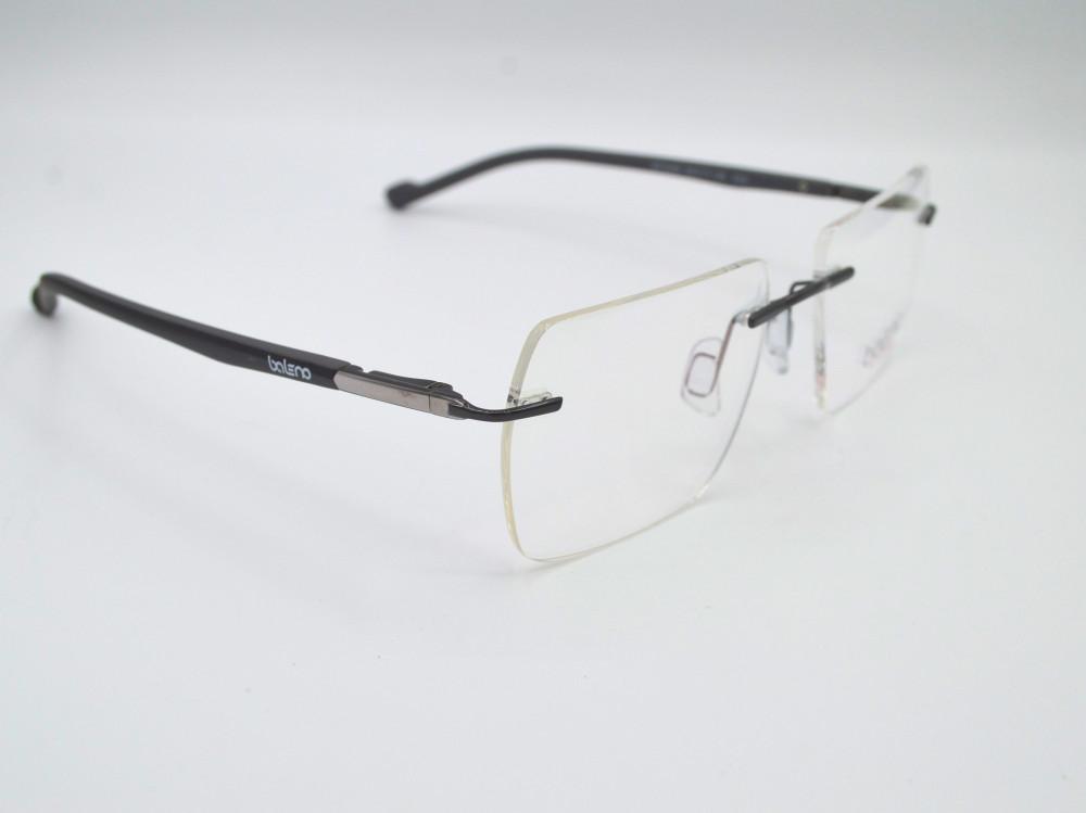 نظارة طبية بدون اطار من ماركة BALENO لون الذراع رصاصي و فضي