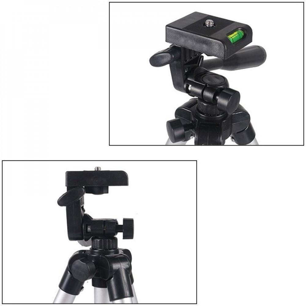 حامل ثلاثي صغير  للتصوير الاحترافي بالهواتف الذكية والكاميرات ترايبود