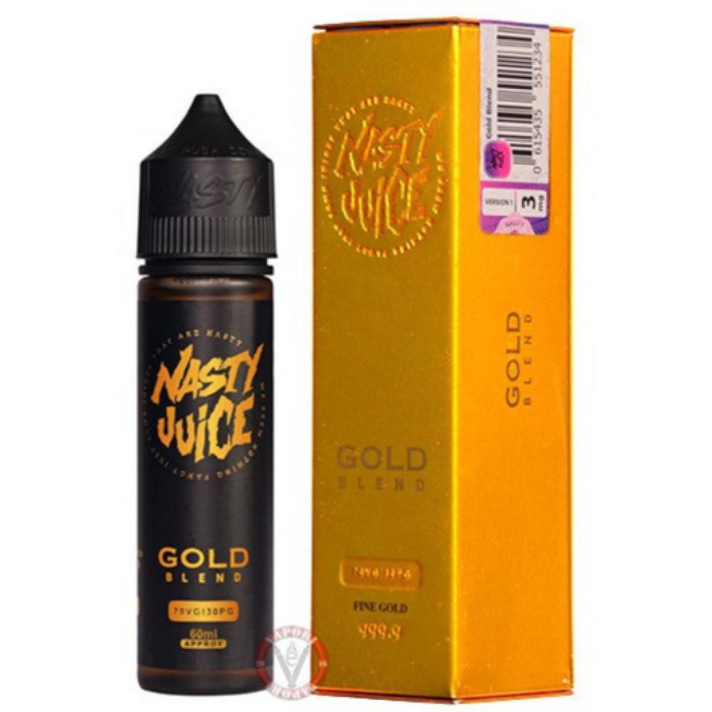 NASTY GOLD BLEND TOBACCO - 60ML - فيب شيشة  نكهات شيشة  نكهة ناستي