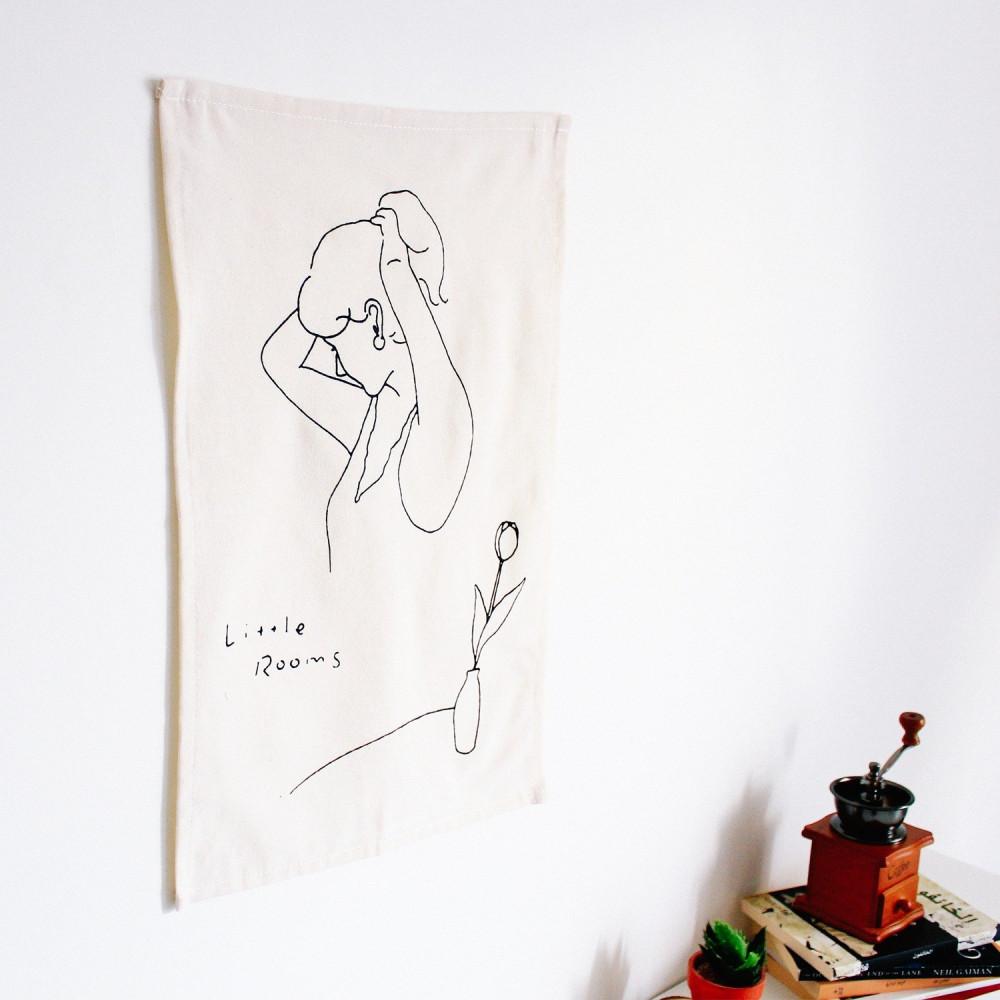 ديكورات منزلية بطابع بوهيمي ديكور جدار غرفة النوم لوحة للمدخل متجر