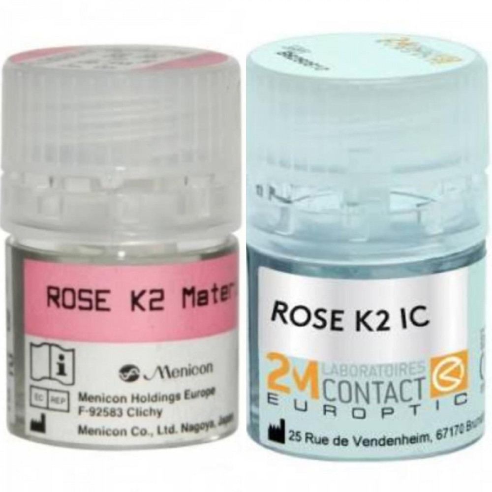 عدسات لاصقه صلبه Rose k2 ink