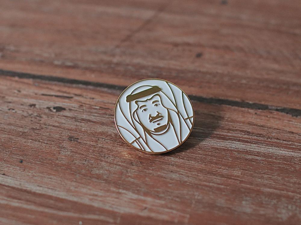 بروش الملك سلمان بن عبدالعزيز