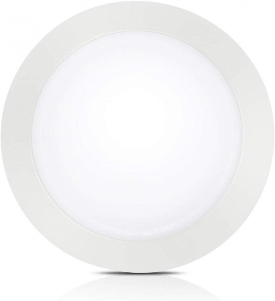 مصباح لد دائري بارز 35 شمعه 265-85 فولت 50-60 هيرتز اللون ابيض