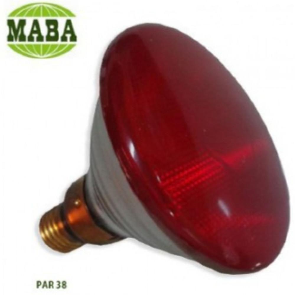 لمبة حجري PAR38 80W RED 250V
