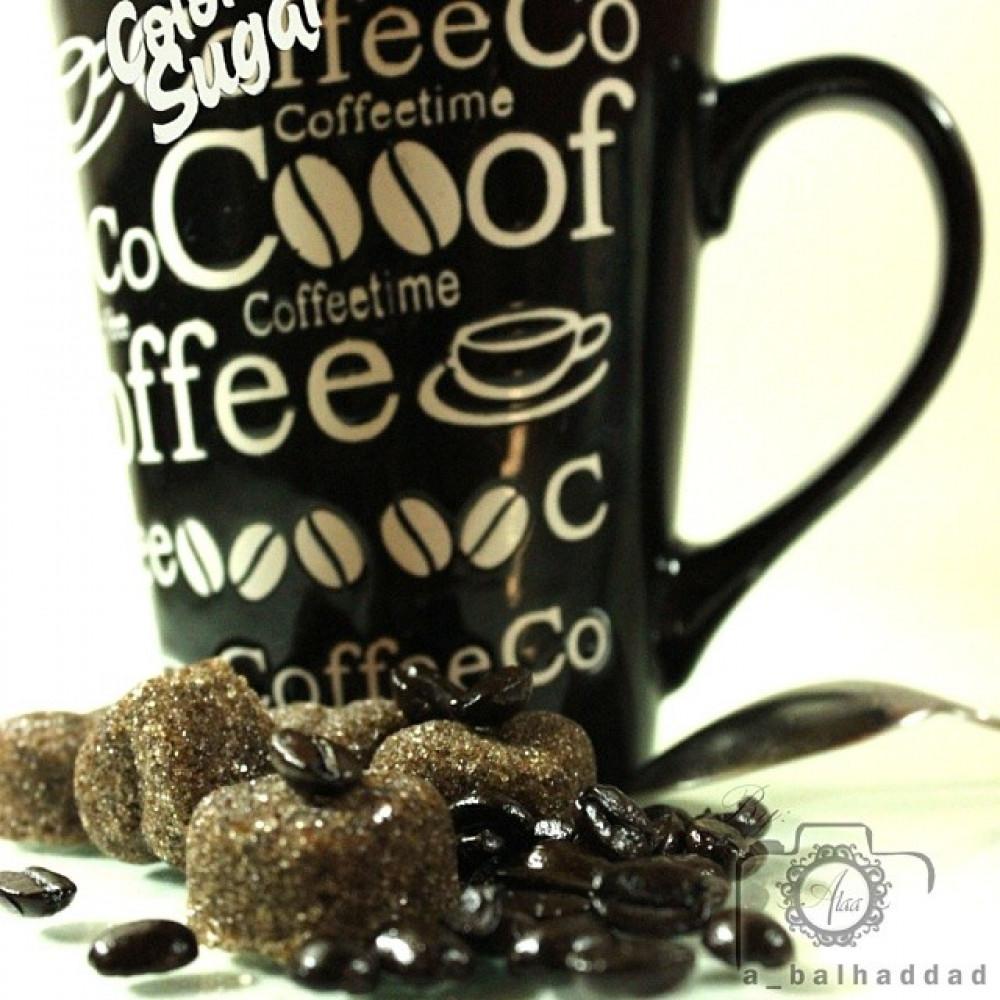 سكر بالقهوة قوالب سكر ضيافة مغلفة بنكهة القهوة الطبيعية من متجر السكر