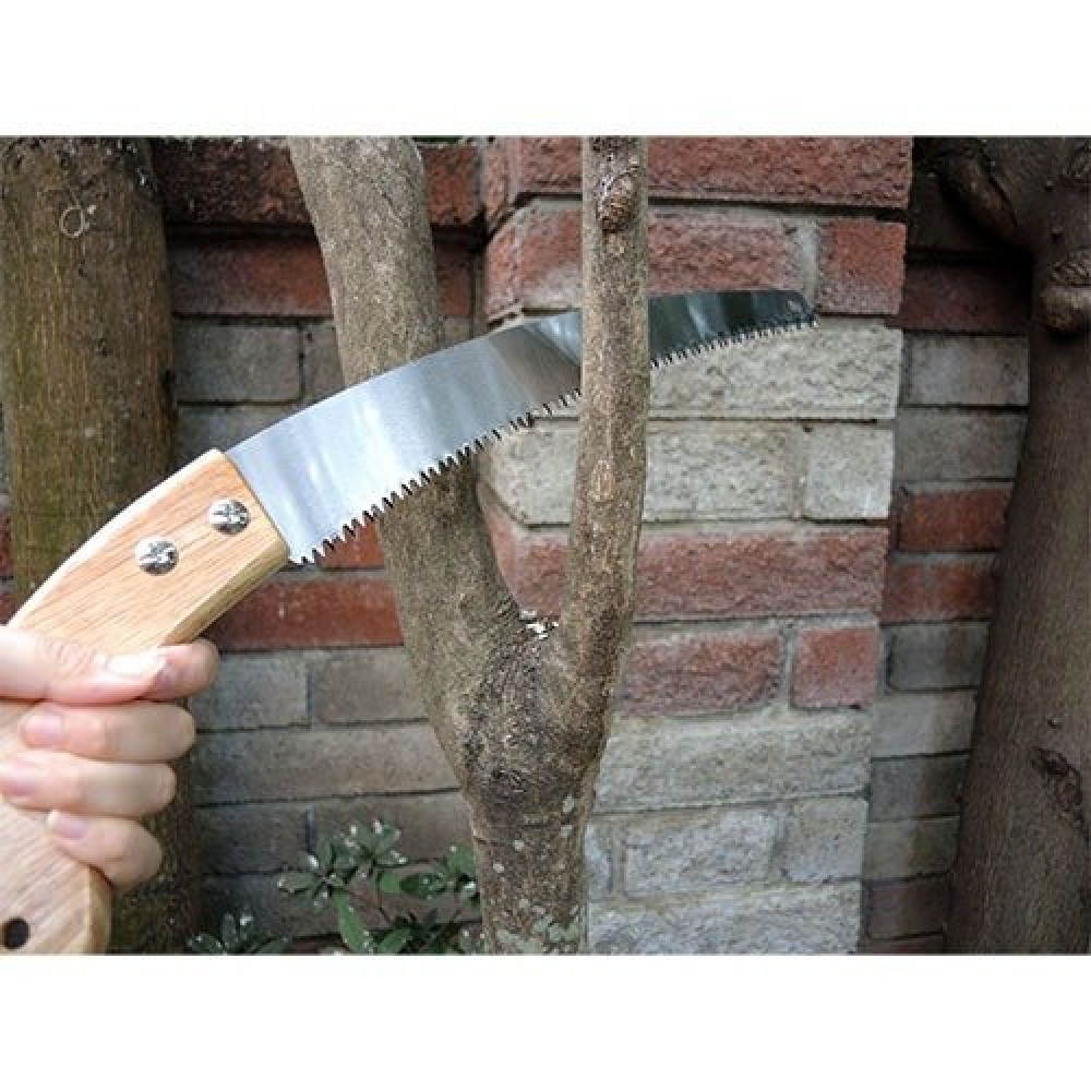 منشار للخشب والجبس والبلاستك يدوي صغير بمقبض بلاستيكي مزدوج السنون