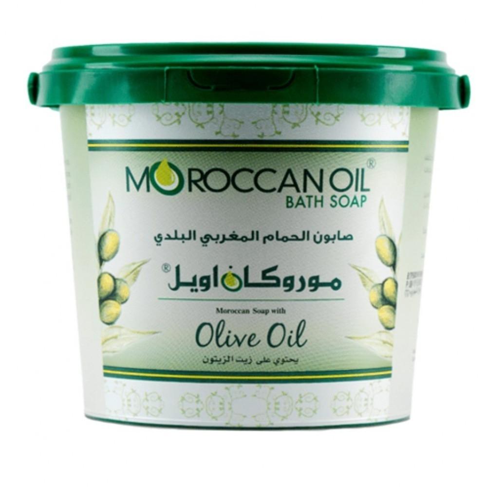 موركان اويل صابون الحمام المغربي البلدي - 850 جرام