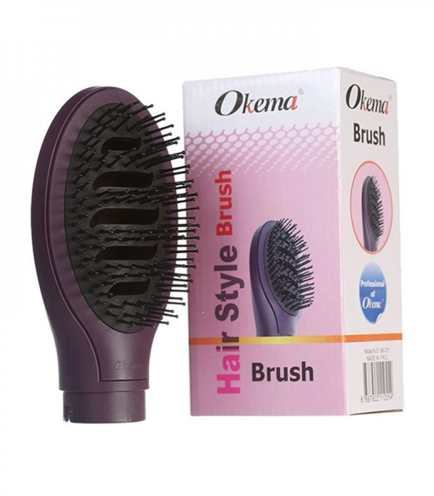 فرشاة الشعر OK-721 من اوكيما بنفسجي okema hair dryer brush