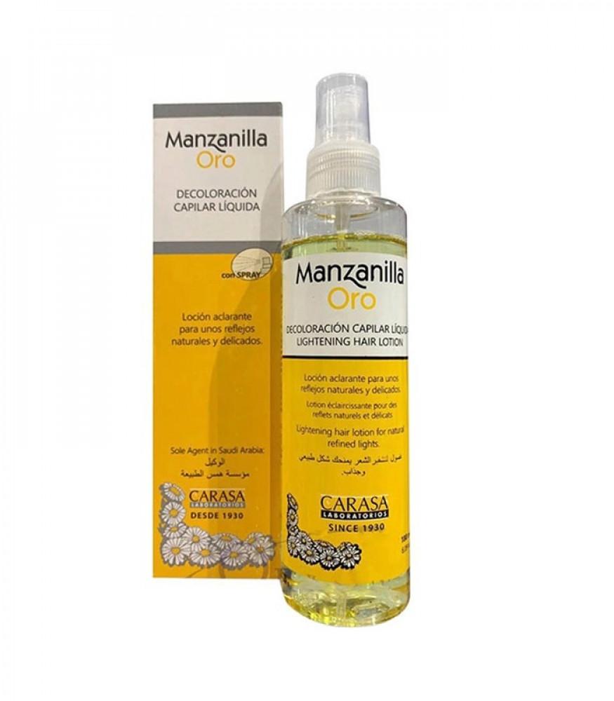 مانزانيلا غسول لتشقير الشعر بخلاصة البابونج من كاراسا 180مل