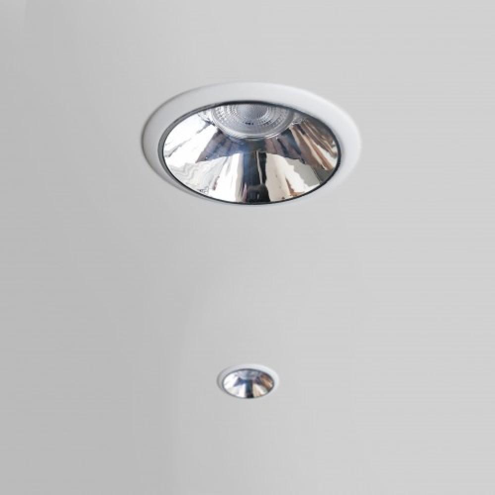 إضاءة إنارة ضد التوهج سمكو سقف سقفية ليد لطش فضي سبوت لايت مربع داخل