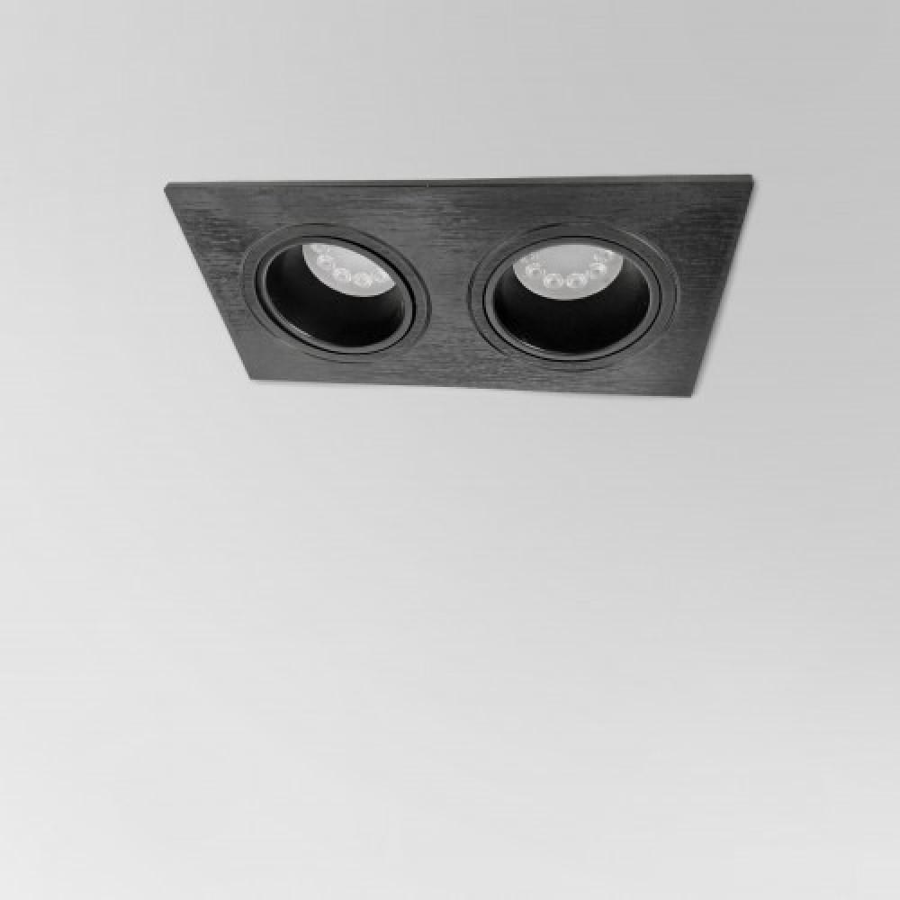 إضاءة إنارة ضد التوهج سمكو سقف ثنائي ليد لطش مودرن سبوت لايت مربع داخل