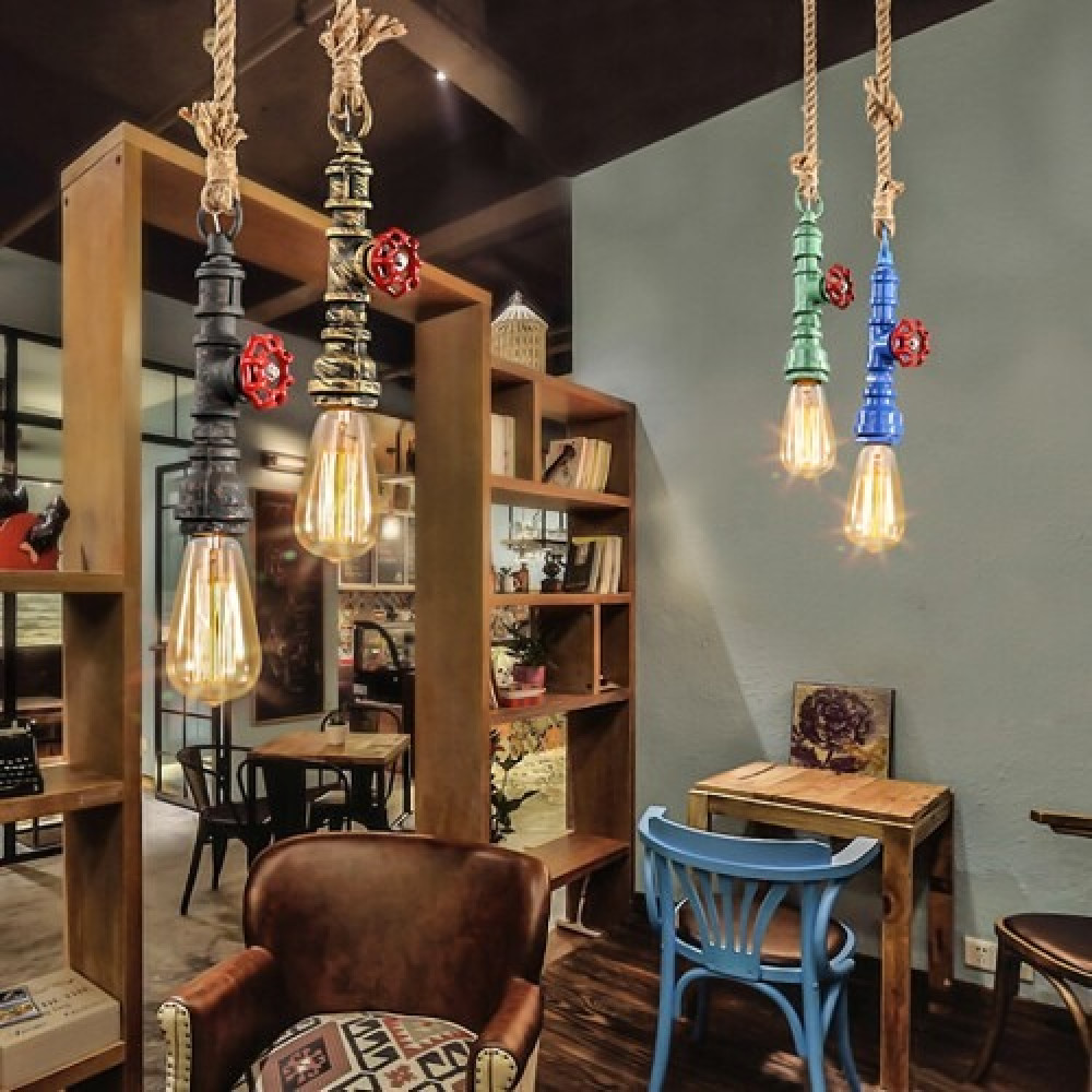 إضاءة إنارة محل متجر حبل سمكو الرياض القصيم علاقي الوان معلق لمبات ليد
