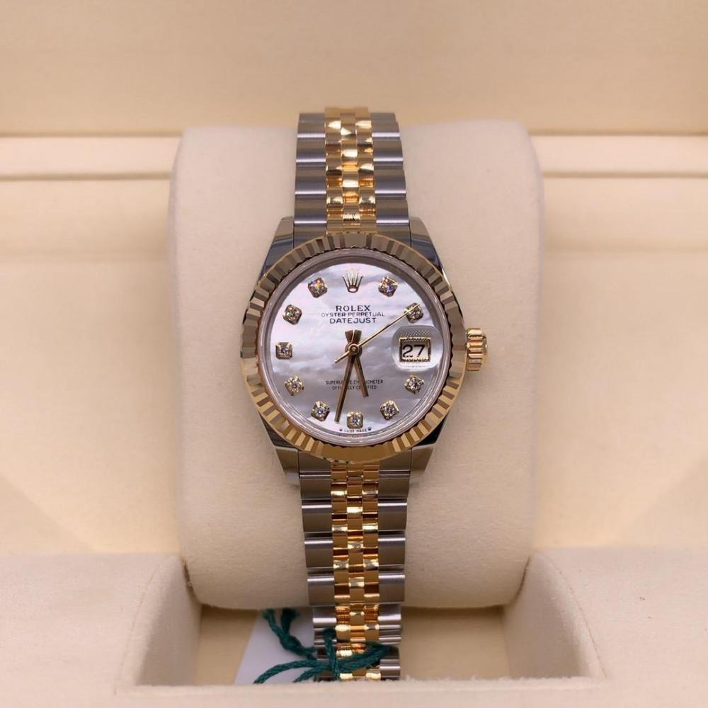ساعة Rolex ديت جست الأصلية الثمينة جديدة تماما 279173