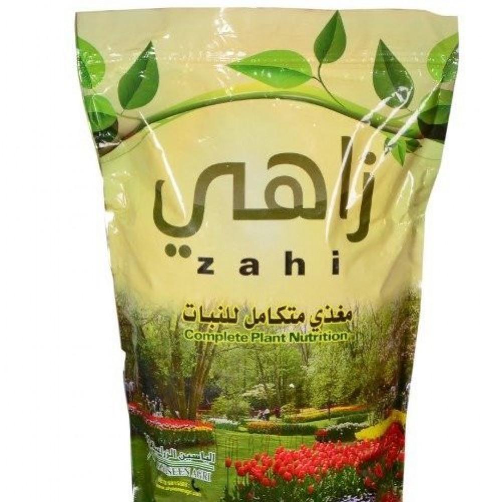 سماد  زاهي عضوي لجيمع المزروعات والنباتات والازهار