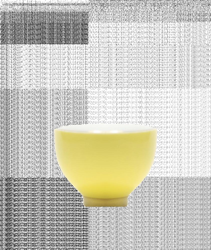 بياك-فنجان-سيراميك-اصفر-اكواب