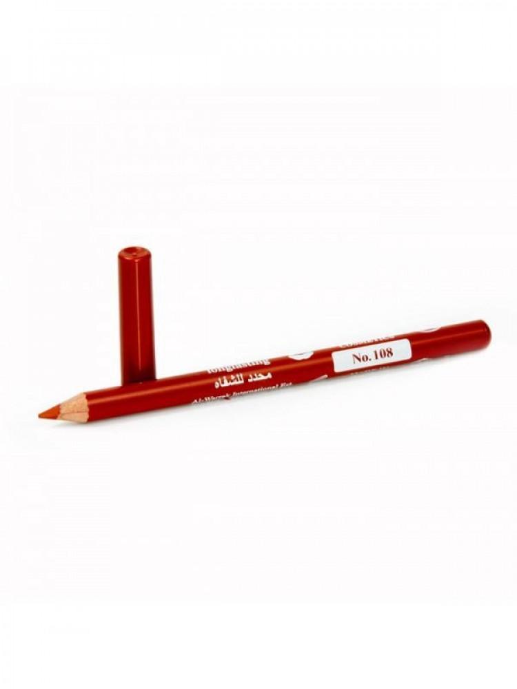 قلم تحديد شفايف طويل الامد من جيسيكا 108 احمر