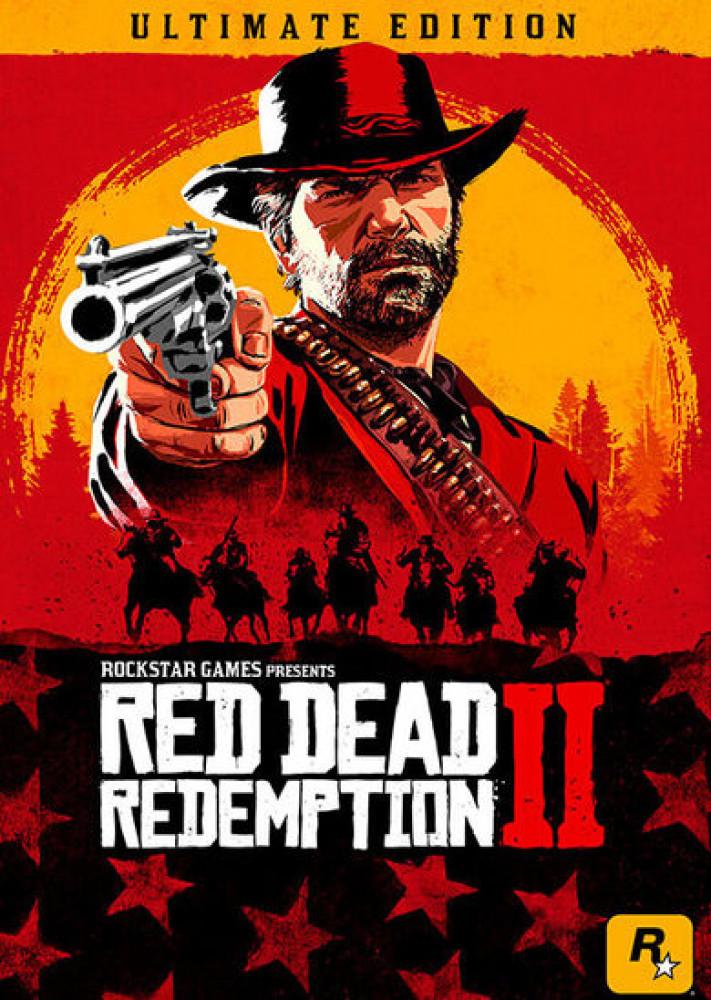 لعبة RED DEAD REDEMPTION 2 ULTIMATE EDITION للكمبيوتر روكستار 2019