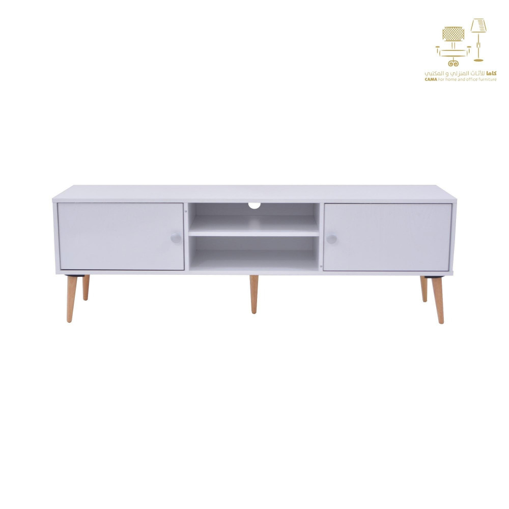 طاولة تلفزيون من كاما C-150-white ash 0121