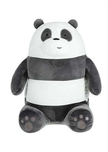 دمية من سلسة الدببة الثلاثة باندا We Bare Bears ميني سو Miniso حب الحياة حب ميني سو تسوق واحصل علي افضل الاسعار