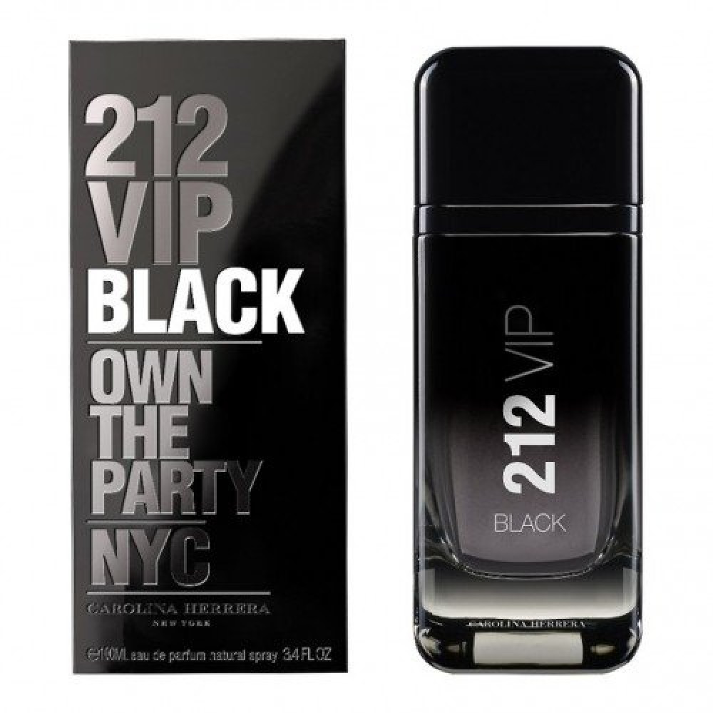 Carolina Herrera 212 VIP Black Eau de Toilette 50ml خبير العطور