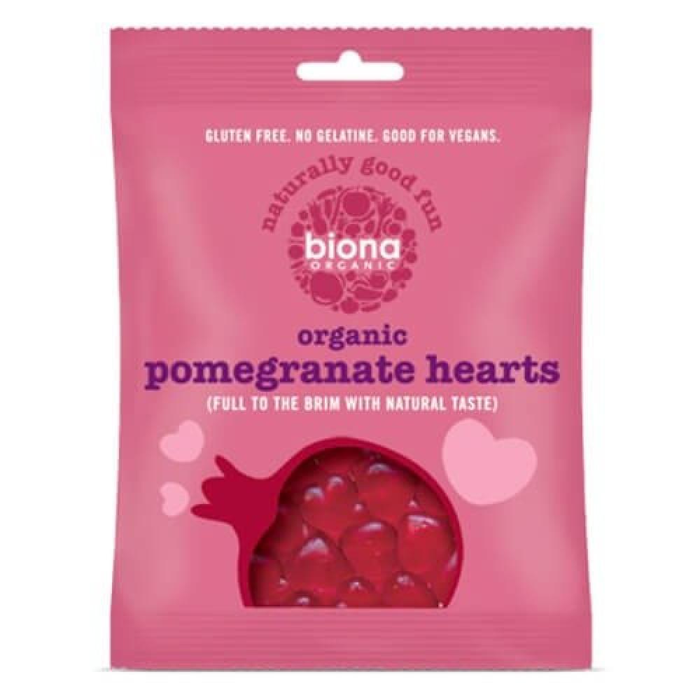 حلوى الجيلي العضوية بالرمان 75 جرام