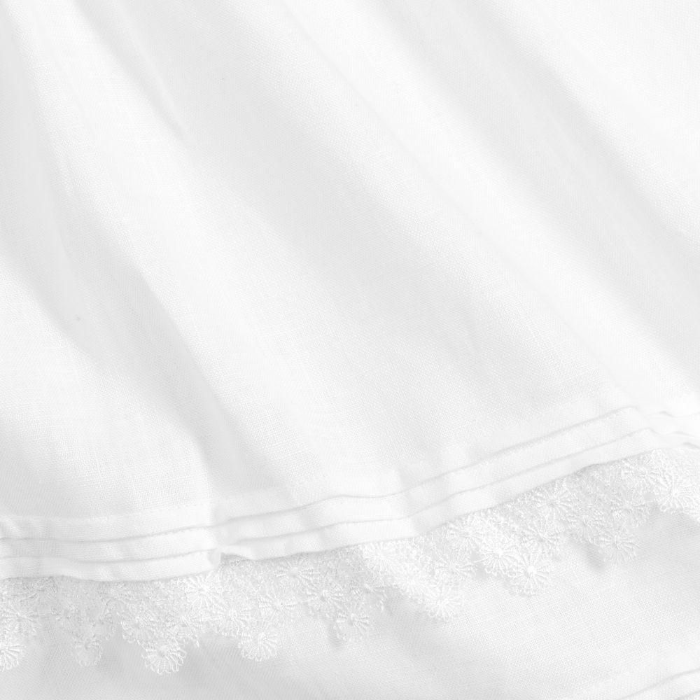 فستان انيق باللون الابيض من ماركة  Patachou من دوها كيدز