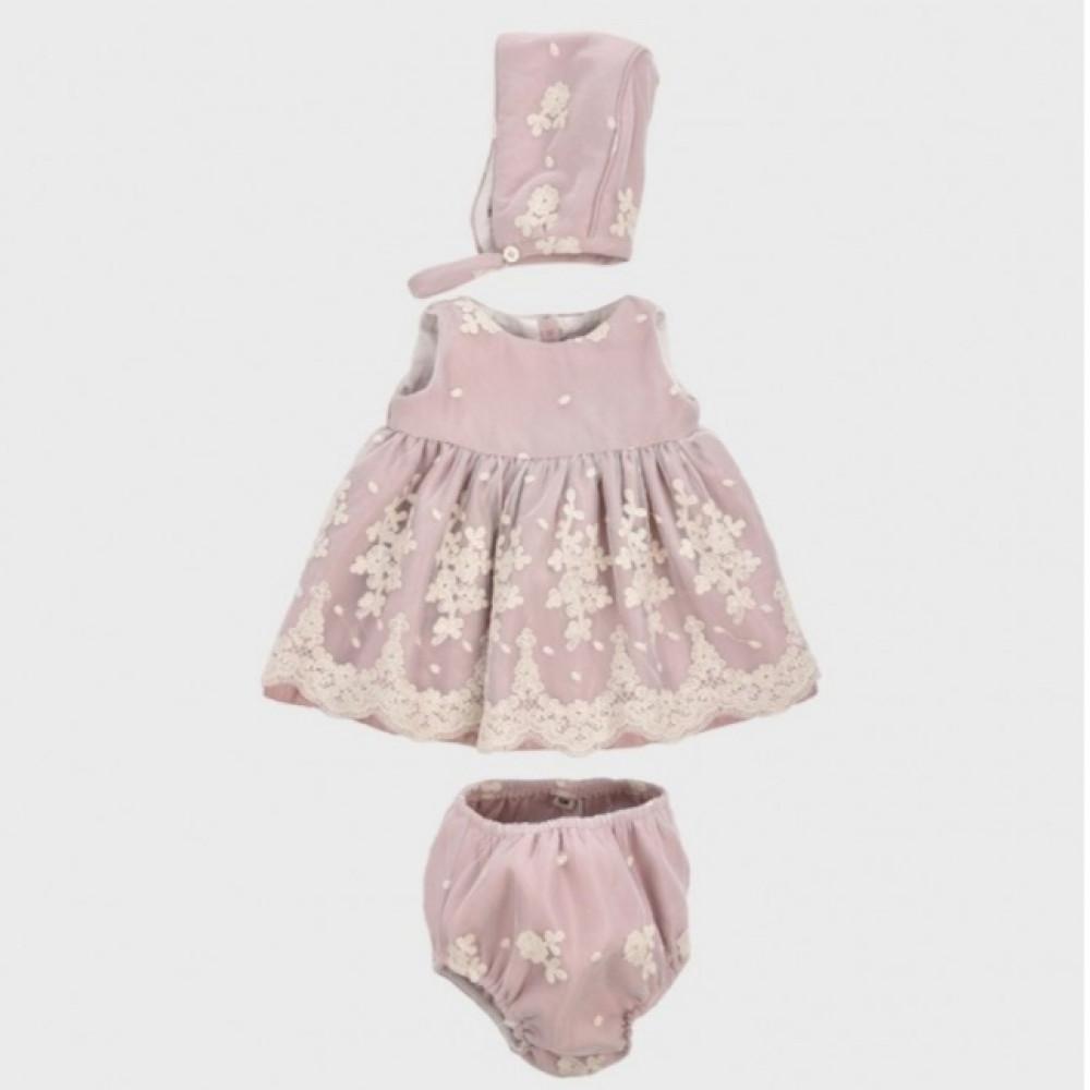 فستان-طفلة-مطرز-اسباني