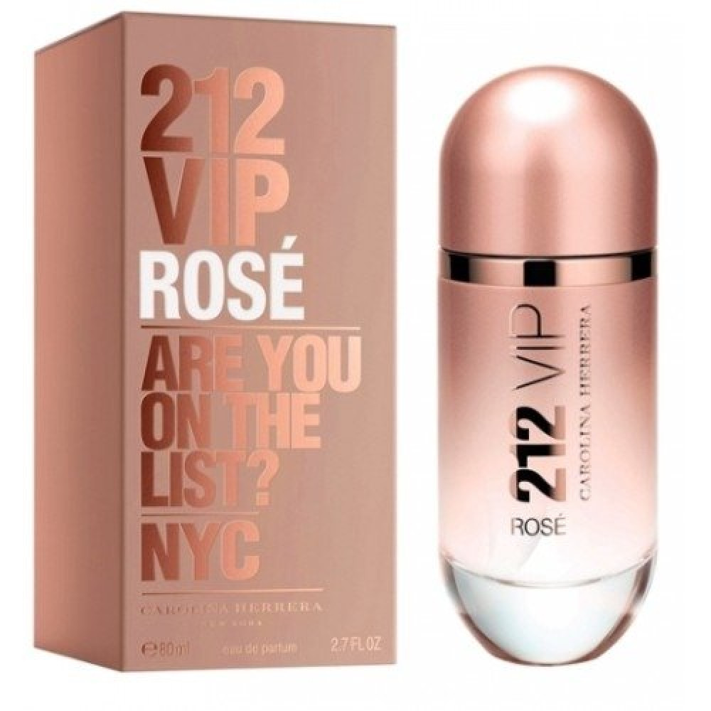 Carolina Herrera 212 VIP Rose Eau de Parfum 80ml خبير العطور