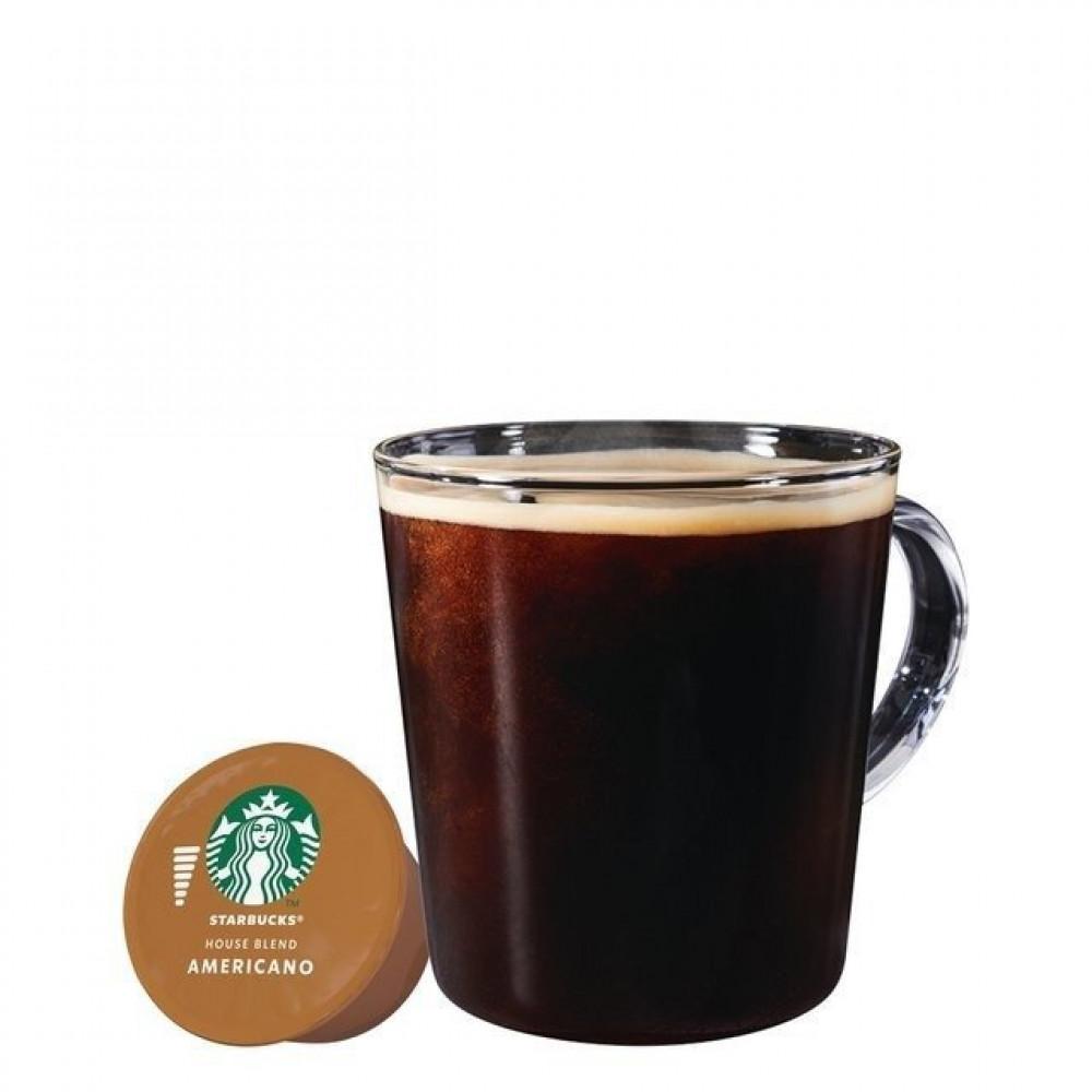 قهوة هاوس بلند - كبسولات ستاربكس أمريكانو هاوس بليند متوافقة مع دولتشي
