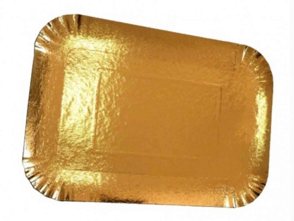 صحن ورق ذهبي