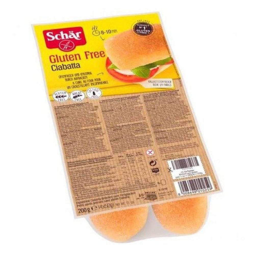 خبز شيباتا خالي من الجلوتين 200 جرام