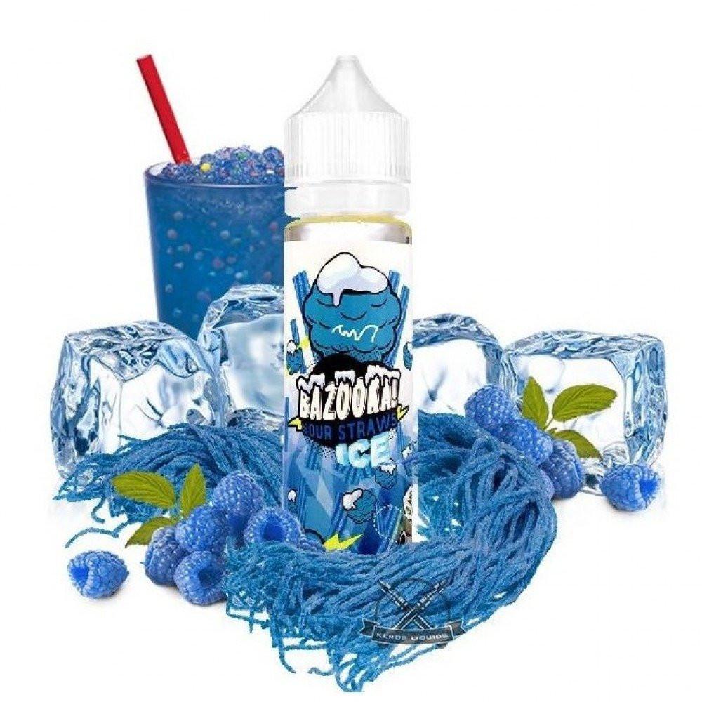 بازوكا ايس توت ازرق bazooka blue raspberry