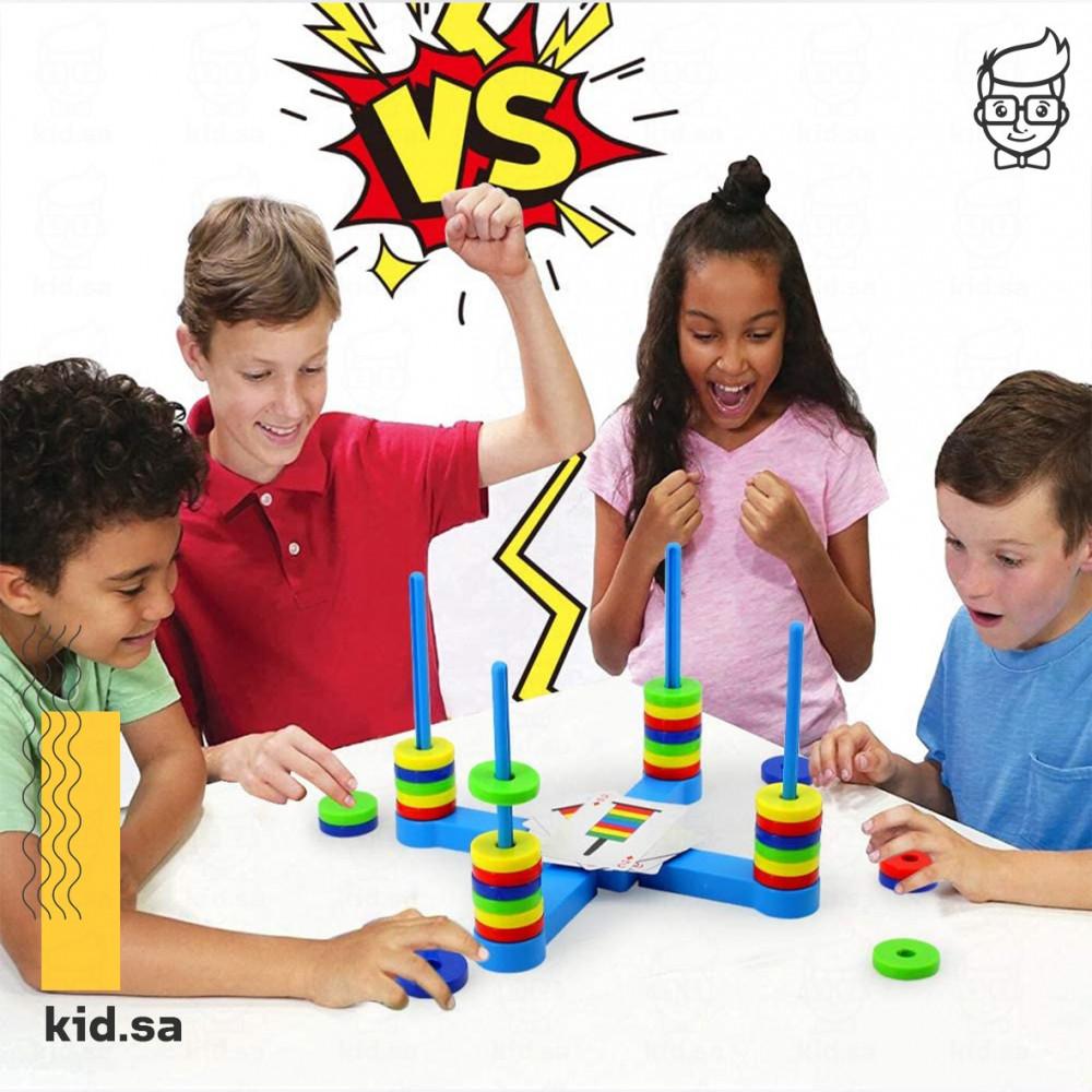 لعبة جماعية تحدي بين الاطفال 4 اشخار